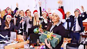 Weihnachtliche Rede im Betrieb
