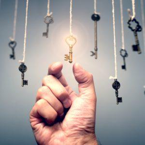 Schlüssel Erfolg