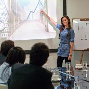 Präsentationen, technische Hilfsmittel