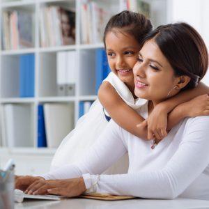 Mütter auf sich allein gestellt, Weltfrauentag