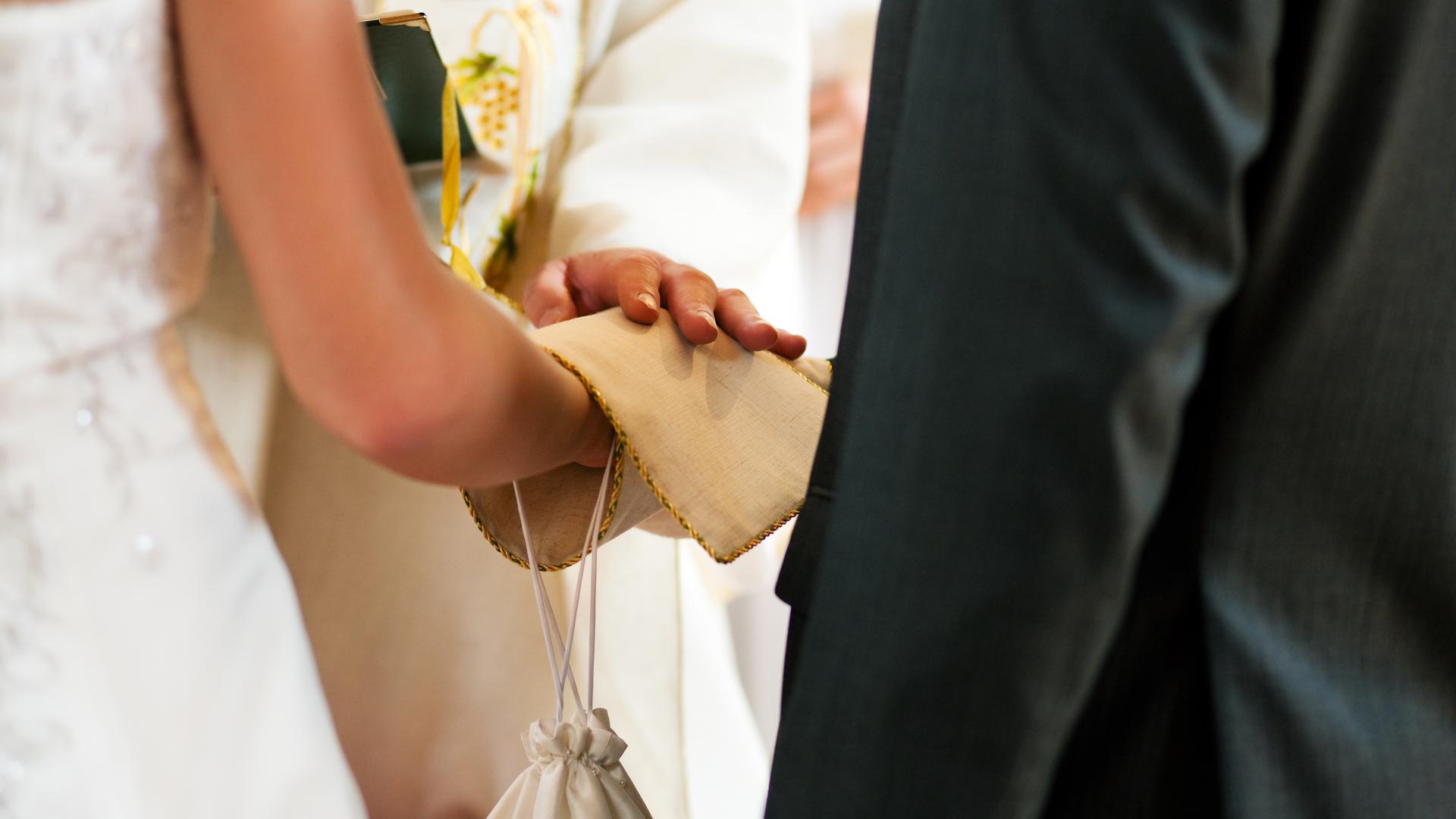 Glück und Segen Brautpaar