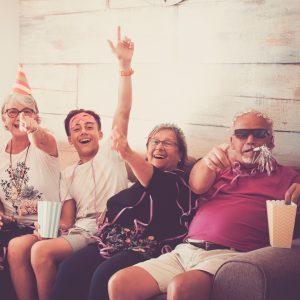 Feier zum Renteneinstieg