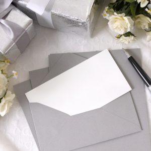 Glückwunschkarte zur Hochzeit mit Gedichten