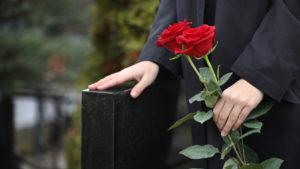 Eine Trauerfeier im engsten Kreis - dazu zählt nicht mal die ganze Familie
